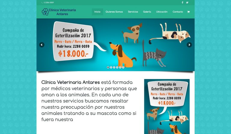 veterinariaantares.cl